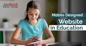 Mobile Designed Website in Education