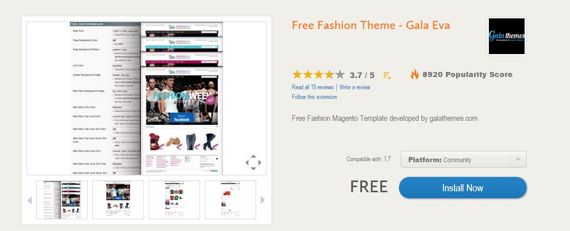 After the installation is done, go to Magento backend > System > Design >  click on Add Design Change