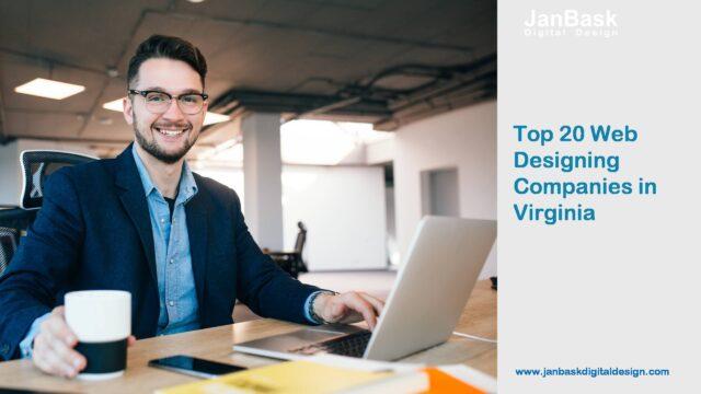 Top 20 Web Designing Companies in Virginia
