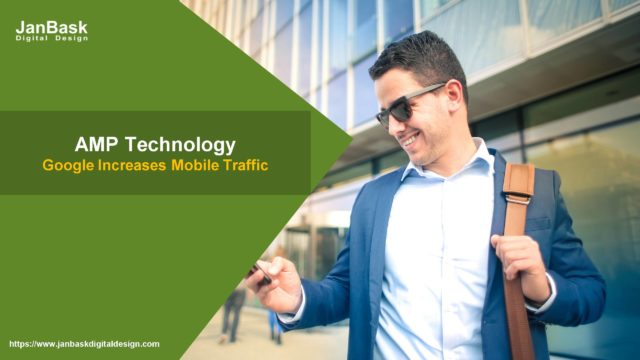 The AMP technology by Google increases mobile traffic for publishers