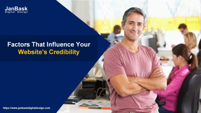 Factors That Influence Your Website's Credibility