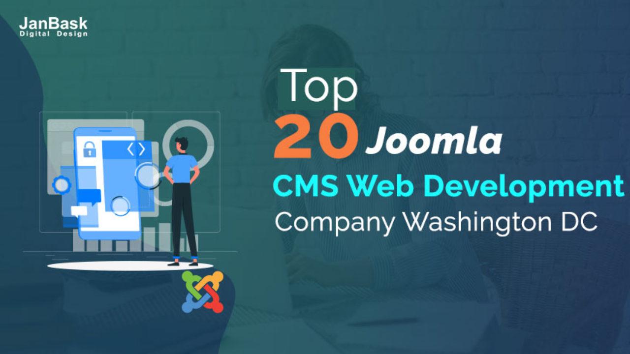 Top 20 Joomla Cms Web Development Company Washington Dc Virginia