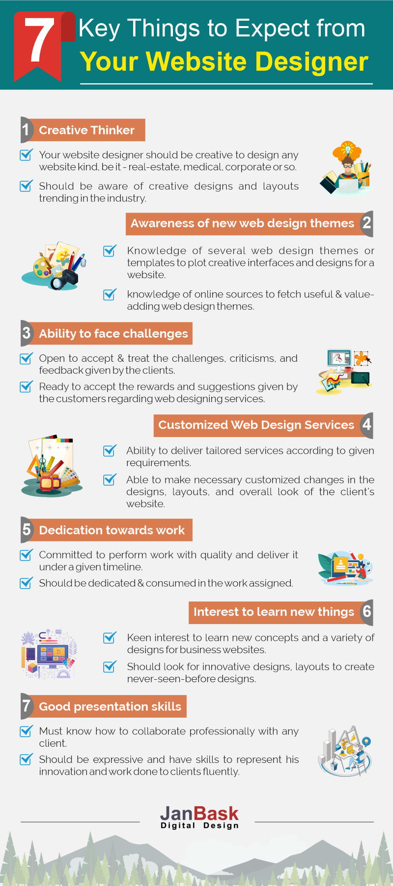 What To Expect From Your Amazing Web Designer Janbask Digital Design Blog