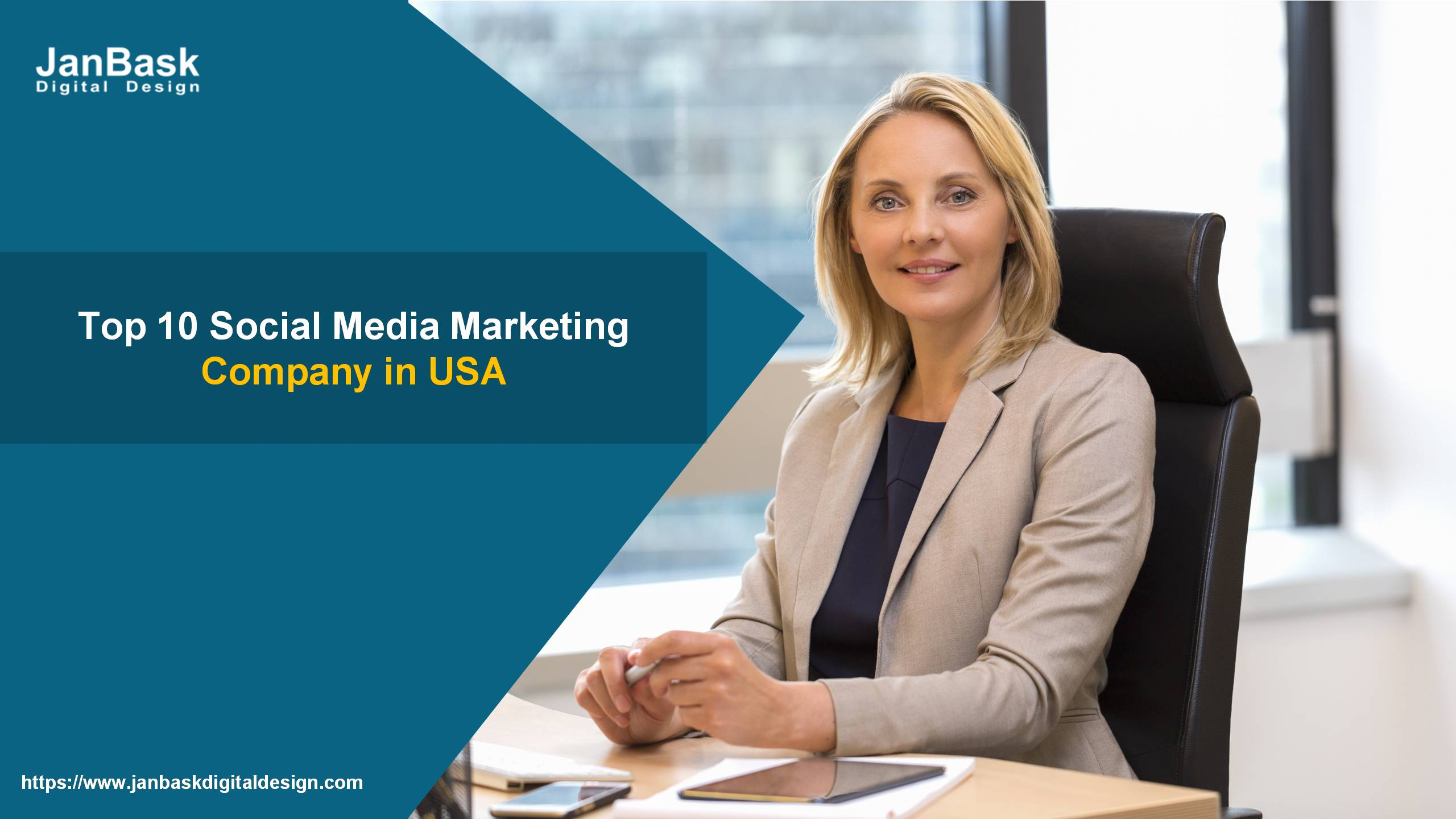 Top 10 Social Media Marketing Company in USA - Janbask Digital