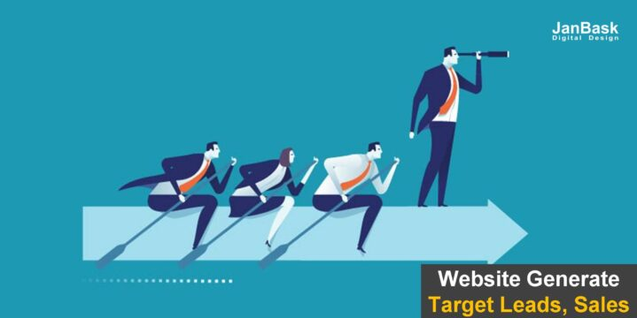 Website Generate the target Leads,