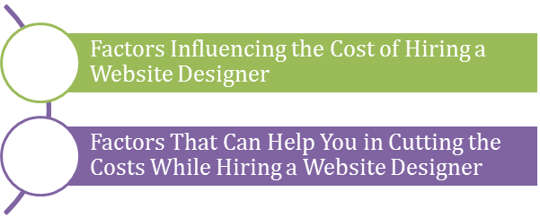 Cost To Hire a Website Designer