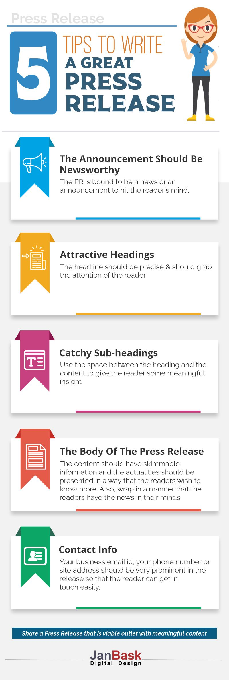 5 Tips to write a great Press Release