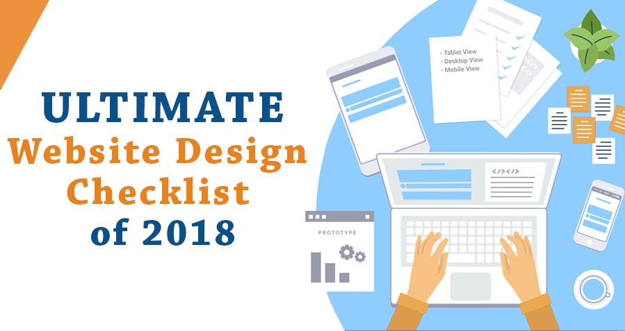The Ultimate Website Design Checklist of 2018