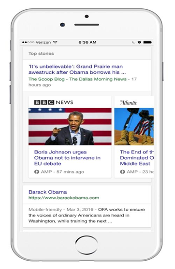 AMP-enabled articles will rank higher in SERP