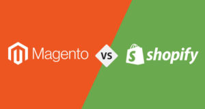 What is the difference between Magento and Shopify?