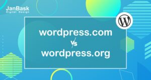 wordpress .com vs .org