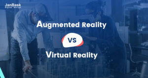 What is difference between Virtual Reality and Augmented Reality?