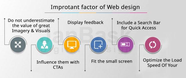 Improtant factor of Web design
