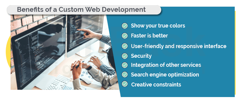 benefits of a custom web development