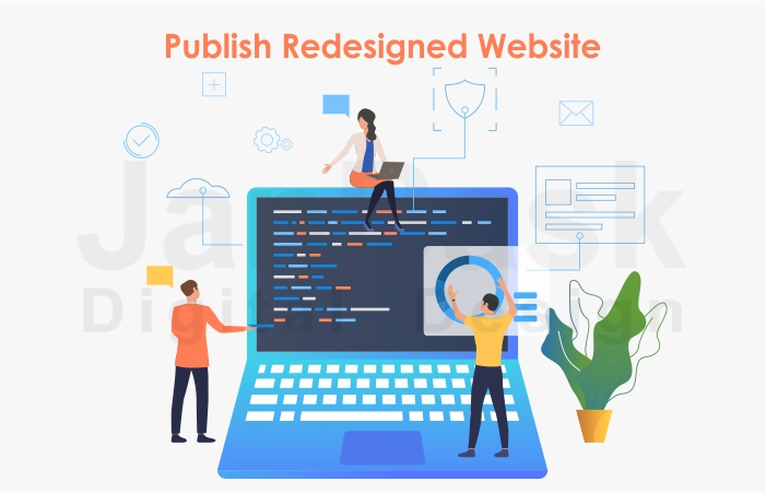 Publish redesign website