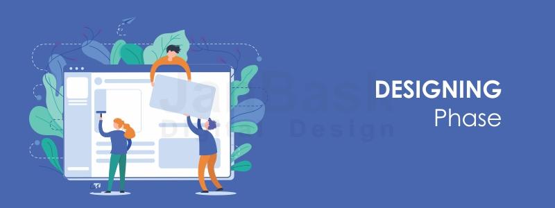 website designing phase
