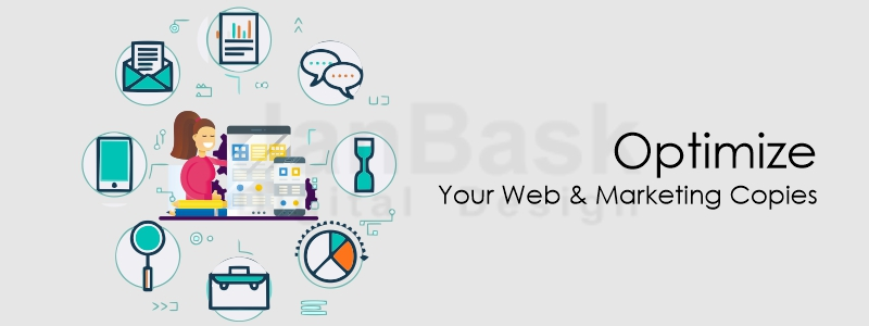 Optimize your web and marketing