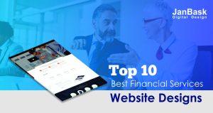 Financial Services Website Designs