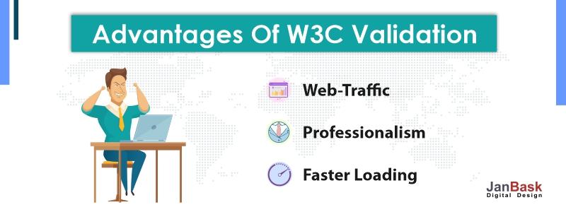 advantages of W3C Validation