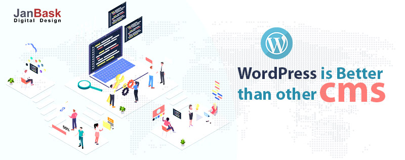 Why is WordPress better than other cms?