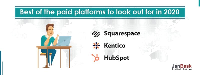 paid CMS platforms