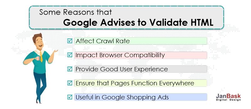 Google Advises to Validate HTML