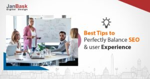 How to perfectly balance SEO and user experience-min