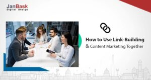 link building and content marketing together