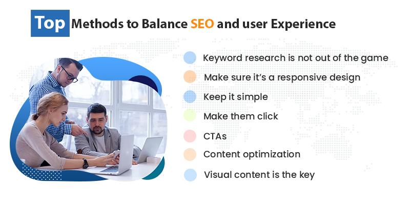 how to balance seo and user expereince
