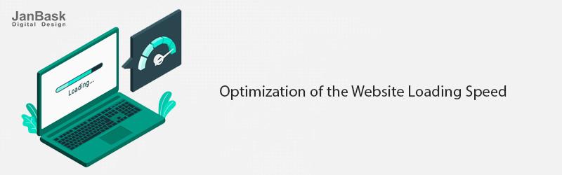 optimization of website loading speed