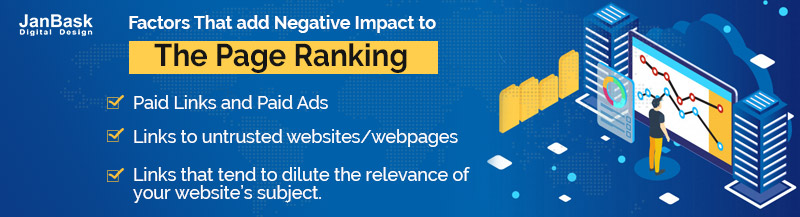 factors affecting page ranking