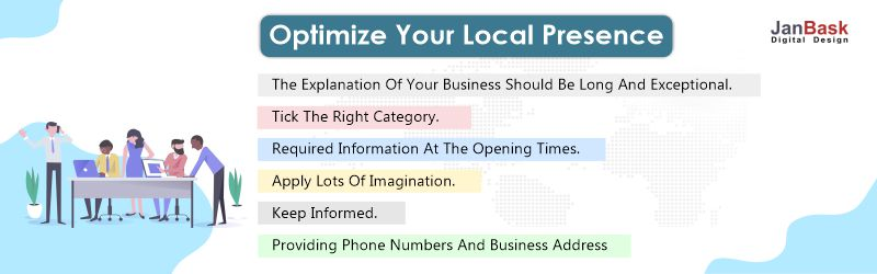 optimize your local presence