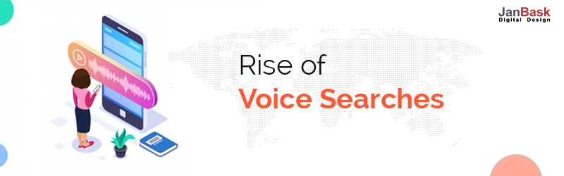 Rise of voice searches