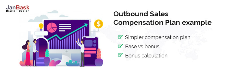 Outbound Sales compensation plan example