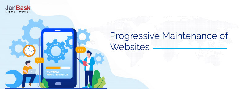 Progressive Maintenance of Websites Apps