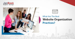 Website Organization Practices