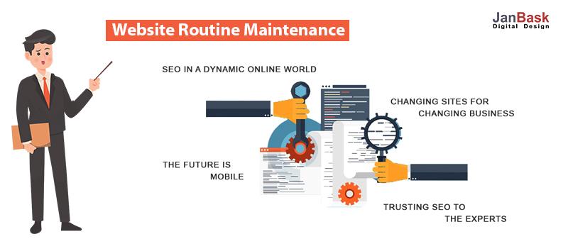 Website Routine Maintenance